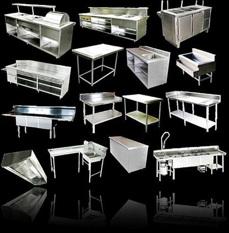 Apolo69 mobiliario de acero inoxidable for Mobiliario y equipo para restaurante